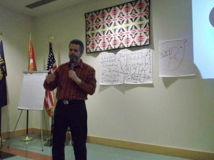 Motivational customer service speaker Bob Davis-Mayo