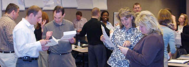 Team Building Workshop, Davis-Mayo Associates